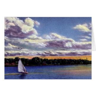 Navegación de Omaha Nebraska en el lago carter Tarjetas