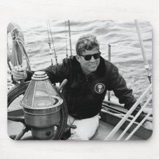 Navegación de presidente John Kennedy Tapetes De Raton