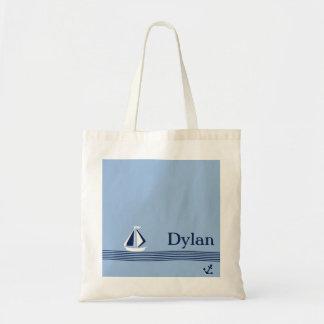 Navegación del bolso lejos personalizado de los ni bolsa tela barata