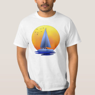 Navegación del catamarán playera