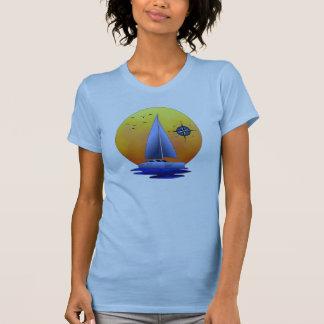Navegación del catamarán polera