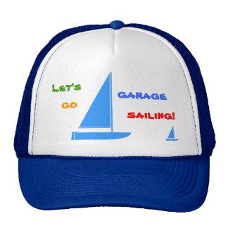 Navegación del garaje gorras de camionero