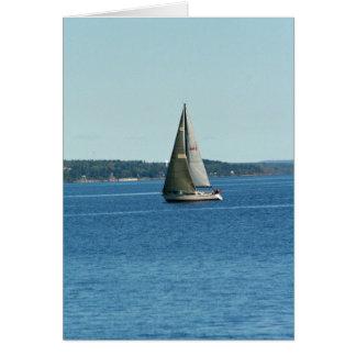 Navegación del lago Superior Tarjeta Pequeña