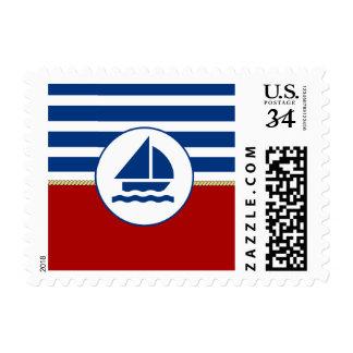 Navegación del mundo sello