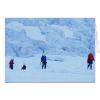 Navegación del Norris Icefall Tarjeta De Felicitación