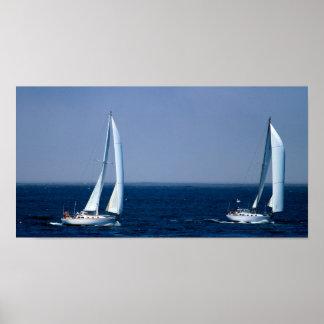 Navegación del poster de los mares