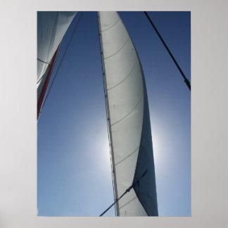 Navegación en Bahamas Póster