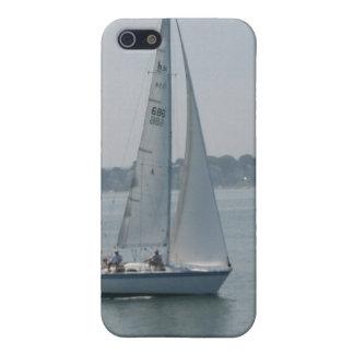 Navegación en caso del iPhone 4 de Nueva Inglaterr iPhone 5 Fundas
