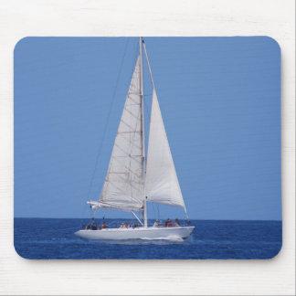 Navegación en el cojín de ratón del azul de océano tapete de raton