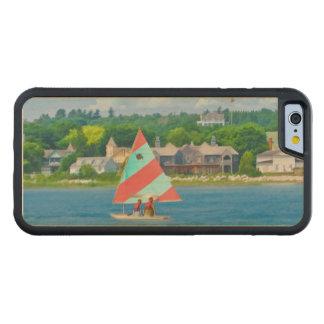 Navegación en el lago Hurón Funda De iPhone 6 Bumper Arce