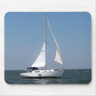 Navegación en el lago Pontchartrain Mousepad Tapete De Ratón