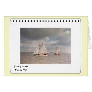 Navegación en la Norfolk Broads Tarjeton