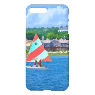 Navegación en la parte superior Michigan del lago Funda Para iPhone 7 Plus