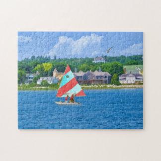 Navegación en la parte superior Michigan del lago Puzzles Con Fotos
