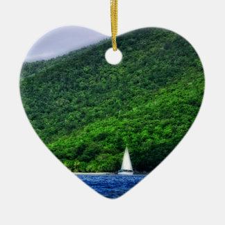 Navegación en las Islas Vírgenes de los E.E.U.U. Ornatos