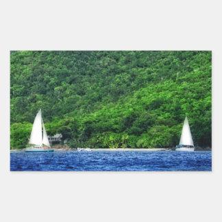 Navegación en las Islas Vírgenes de los E.E.U.U. Rectangular Altavoces