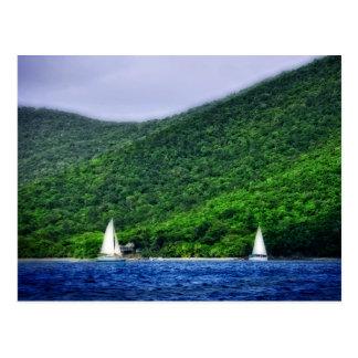 Navegación en las Islas Vírgenes de los E.E.U.U. Postal