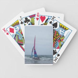 Navegación en naipes del océano baraja de cartas