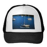 Navegación en paraíso gorras