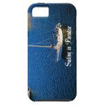 Navegación en paraíso iPhone 5 carcasa