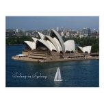 Navegación en Sydney Tarjetas Postales