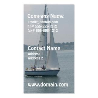 Navegación en tarjetas de visita de Nueva Inglater
