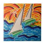Navegación lejos azulejos