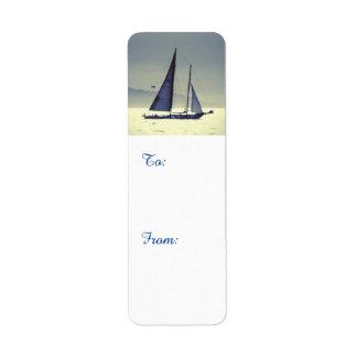 Navegación lejos etiqueta de remite