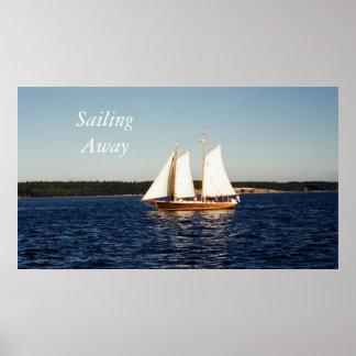Navegación lejos impresiones