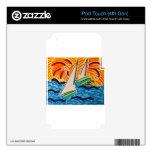 Navegación lejos iPod touch 4G skins