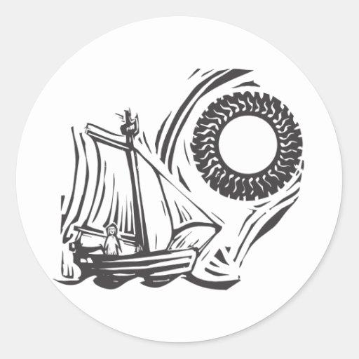 Navegación lejos pegatinas