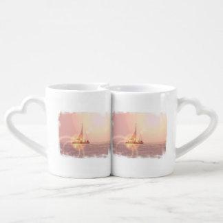 Navegación lejos taza amorosa