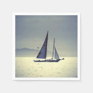 Navegación lejos servilletas desechables