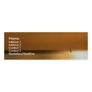 Navegación lejos tarjeta de negocio