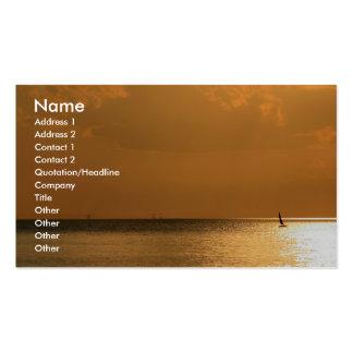 Navegación lejos tarjetas de visita