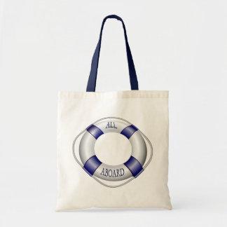 Navegación lisa y feliz bolsa de mano