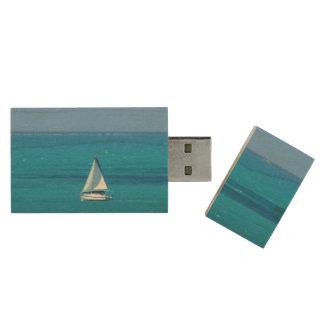 Navegación Pen Drive De Madera USB 2.0