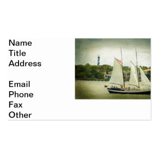 Navegación por la luz tarjetas de visita