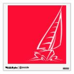 Navegación roja del escarlata; Barco de vela