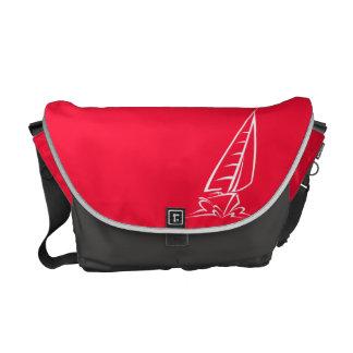Navegación roja del escarlata; Barco de vela Bolsas Messenger
