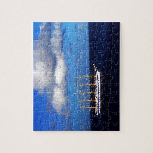 Navegación sobre el océano rompecabezas