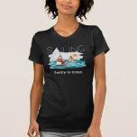 Navegación SUPERIOR, poesía en el océano Camisetas