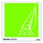 Navegación verde chartreuse, de neón