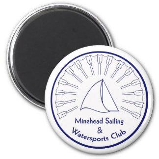Navegación y Watersports de la boca de mina Imán Redondo 5 Cm