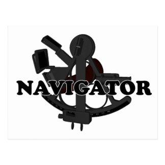 Navegador de las trituradoras tarjetas postales