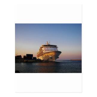 Navegador de los mares del trazador de líneas siet tarjeta postal
