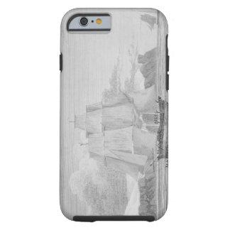 Navegando a través del hielo joven, septiembre de funda para iPhone 6 tough