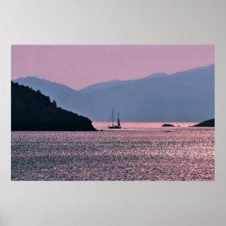 Navegando el Sunkissed egeo