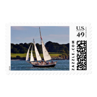 Navegando en Newport, Rhode Island, los E.E.U.U. Estampilla