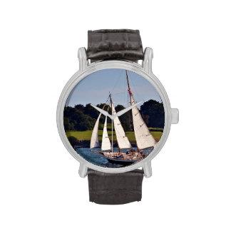Navegando en Newport, Rhode Island, los E.E.U.U. Reloj De Mano
